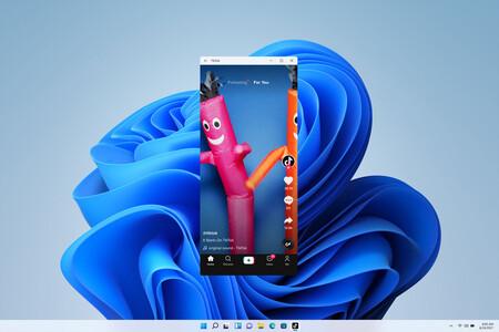 Una aplicación de Android en Windows 11
