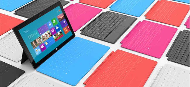 Microsoft Surface RT portada