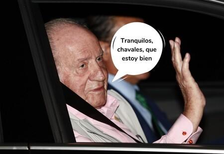 La Casa Real desmiente que Juan Carlos I esté ingresado por coronavirus (y estos son sus planes de Navidad)