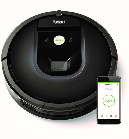Oferta del día en el robot de limpieza iRobot Roomba 981: hasta medianoche cuesta 699 euros en Amazon