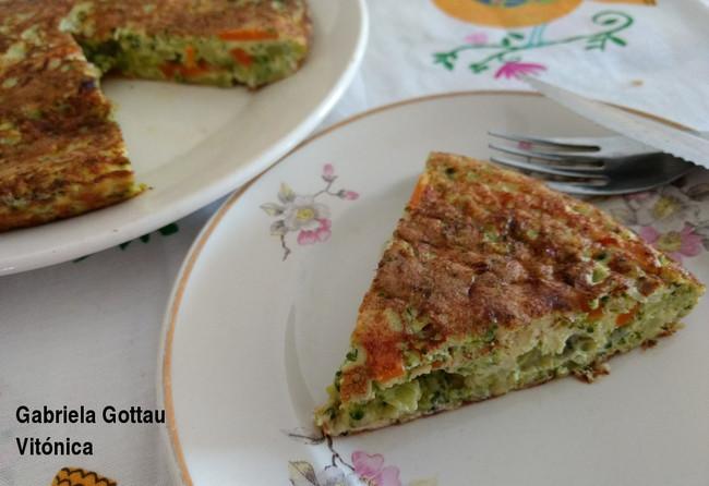 Tortilla de brócoli: receta saludable