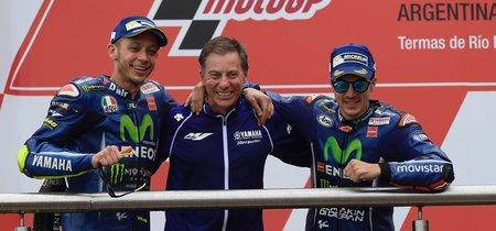 """Lin Jarvis: """"Rossi y Viñales están impacientes por estar en pista. Será una temporada competitiva"""""""