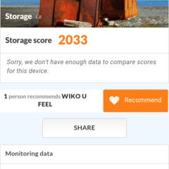 Foto 11 de 19 de la galería benchmarks-wiko-u-feel en Xataka Android