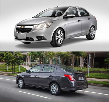 Chevrolet Aveo Vs Nissan Versa 7