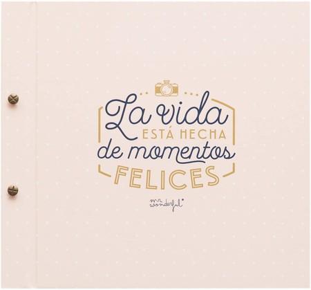 Mr Wonderful Album Con Mensaje La Vida Esta Hecha De Momentos Felices