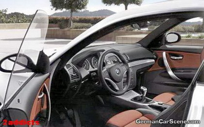 Interior del BMW Serie 1 Coupe