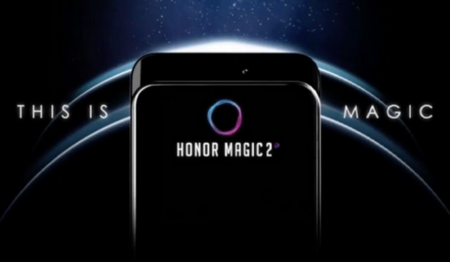 El Honor Magic 2 plantea un futuro de móviles sin marcos, sin notch y con cámaras desplegables