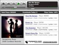 Myspace piensa en un reproductor de música portátil