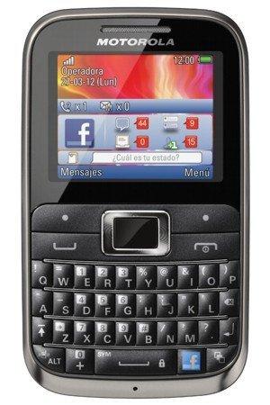 Motorola MotoKey EX116 disponible con Telcel
