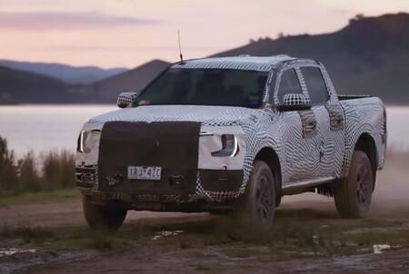Ford Ranger 2023 Teaser