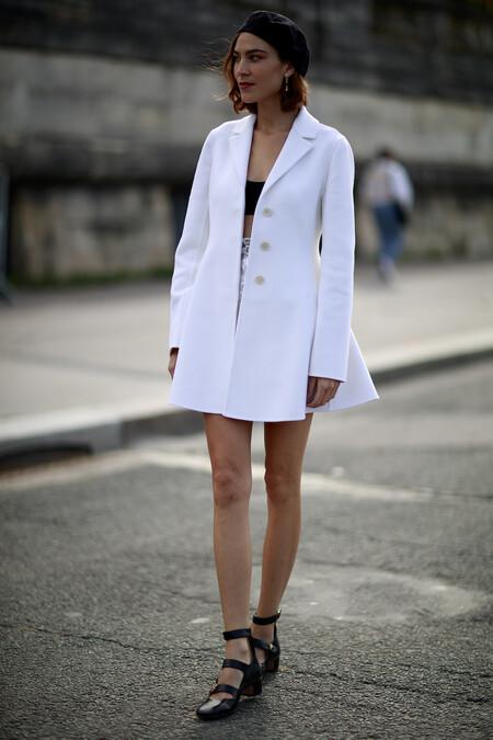 Alexa Chung Streetstyle Paris