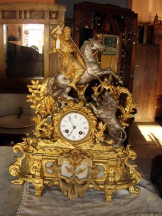 Reloj de calamina