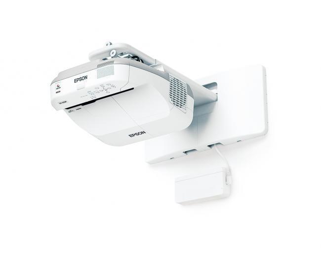Al nuevo proyector de Epson lo manejamos como una pantalla táctil