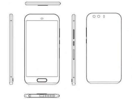 Huawei P9 Sketch