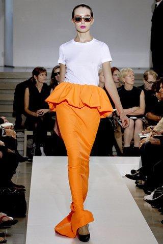jil sander naranja