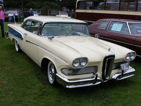 Ford Edsel: el peor coche de la historia