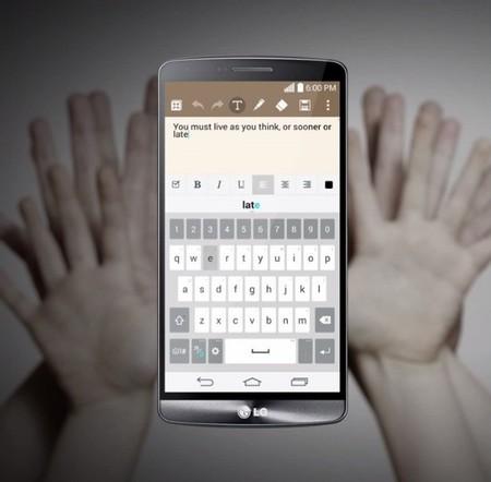 Instala el teclado del LG G3 en cualquier Android con root