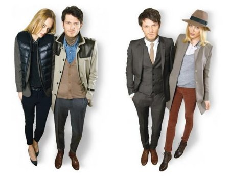 Catálogo y publicidad de The Kooples Otoño-Invierno 2011/2012: estilo de calle con clase