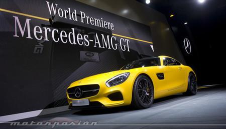 El Mercedes AMG GT costará más que el Porsche 911 Carrera S...en Alemania