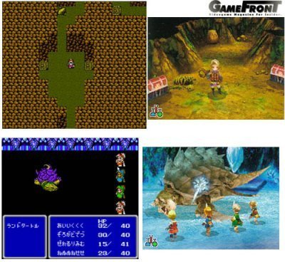 Final Fantasy III, comparando NES y NDS
