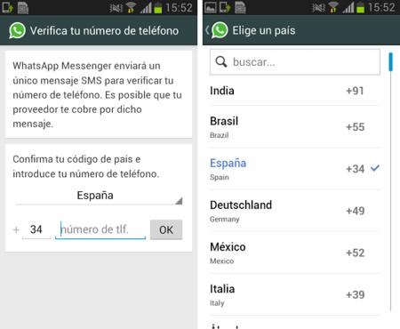 Problemas Whatsapp