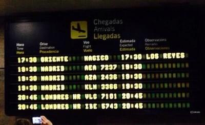 Los Reyes Magos entran en España por el aeropuerto de La Coruña