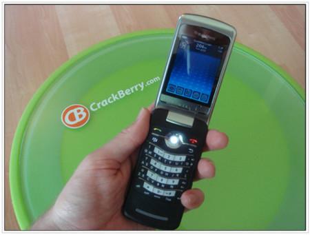 BlackBerry Kickstart, ya la han probado