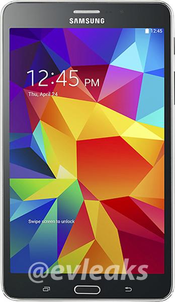 Samsung Galaxy Tab 4 se deja ver, filtrado, en su primera imagen oficial