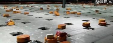 Ver cómo opera un almacén con 100 robots es la forma más increíble de entender lo que nos depara el futuro