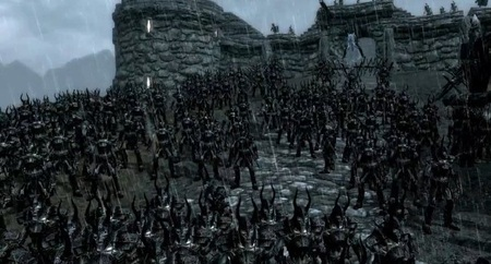 'The Great Battle of Skyrim', el Machinima llega a lo bestia al mundo creado por Bethesda