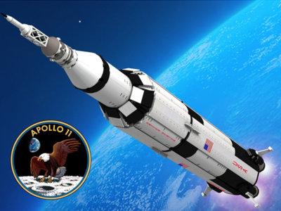El Apolo XI tendrá una reproducción hecha de piezas de Lego que medirá más de un metro