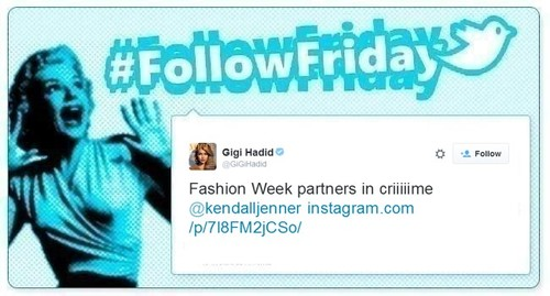 #Follow Friday de Poprosa: a golpe de foto en la NYFW