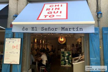 El Chiringuito de El Sr. Martín. Pescaíto frito y buen pescado fresco en Madrid