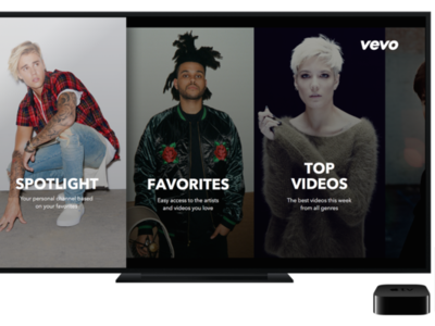 Vevo lanza su aplicación nativa para Apple TV