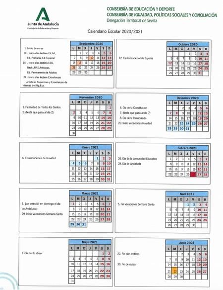 Calendario-escolar-sevilla