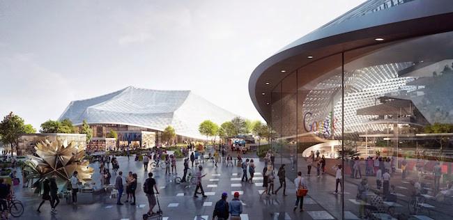 Google ya tiene listo el proyecto de su nuevo campus y es tan fantástico que querrás vivir ahí