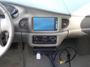 Windows Media Center en el coche