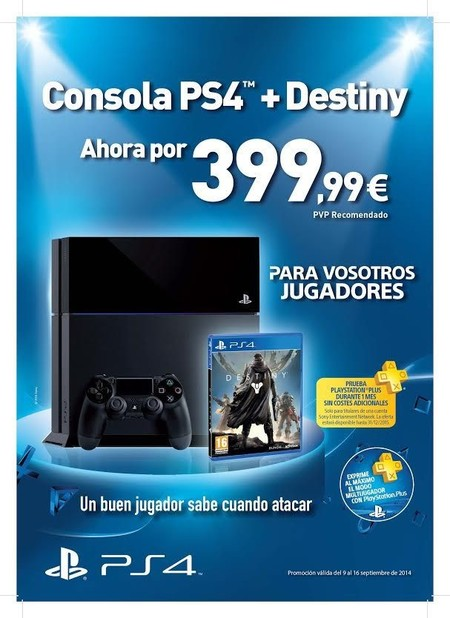 Destiny más PS4