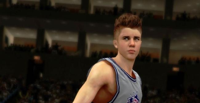 Justin Bieber en NBA 2K13