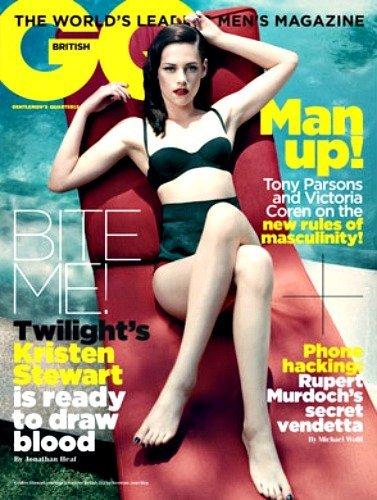 Kristen Stewart, divina a lo años 50 en la portada inglesa de GQ