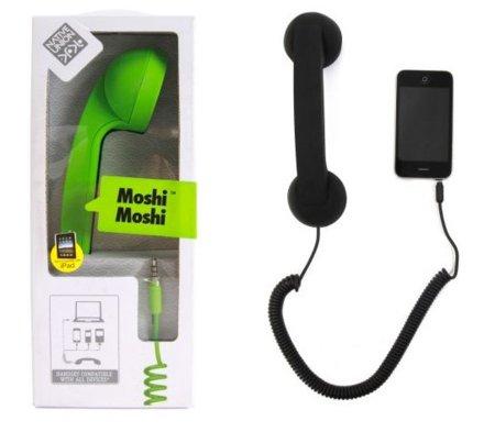 Moshi Moshi: un aurícular retro para tu móvil u ordenador