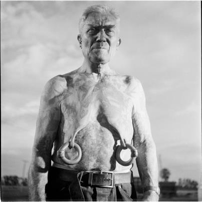 Foto de Stanley Kubrick, un mito del cine fotografiando el mundo del Circo (3/8)