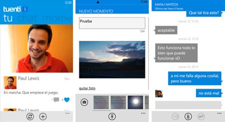 Lanzado oficialmente Tuenti para Windows Phone