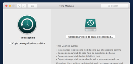 Preferencias Time Machine Sin Disco