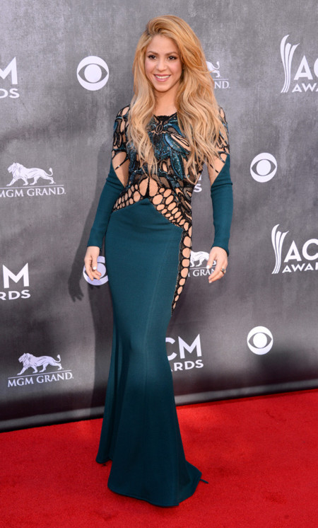 Shakira Academy of Country Music Awards 2014