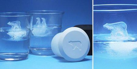 Cinco cubitos de hielo para engalanar tus copas