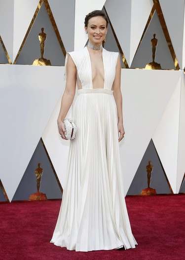 Olivia Wilde, el escote más atrevido de los Oscar 2016