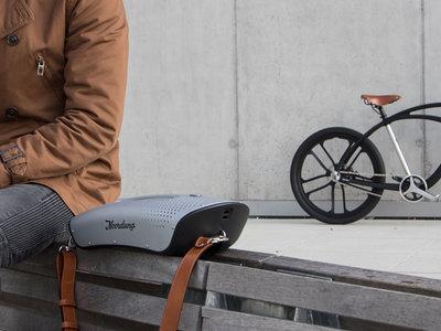 ¿Baterías o altavoces? Ambas cosas en una bici eléctrica con mucho diseño