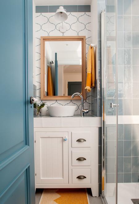 Baños mix de azulejos