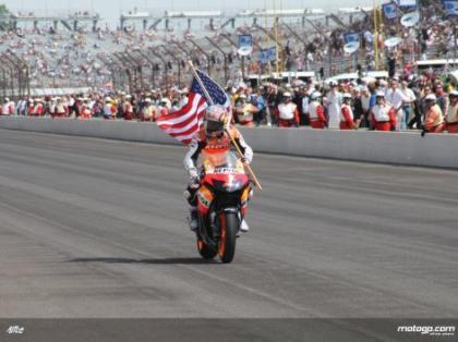 Nicky Hayden en Indianápolis